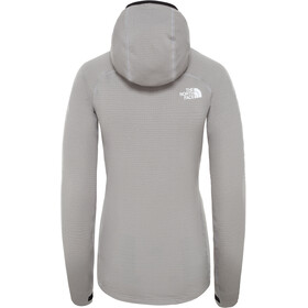 The North Face L2 Power Grid Light Veste à capuche Femme, meld grey